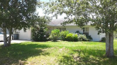 Okeechobee Single Family Home For Sale: 937 SE 38th Avenue