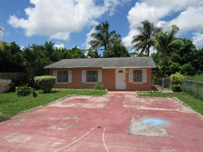 West Palm Beach Single Family Home For Sale: 5829 Papaya Road