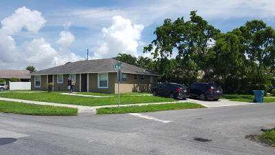 Boynton Beach Multi Family Home For Sale: 115 SE 21st Avenue #2
