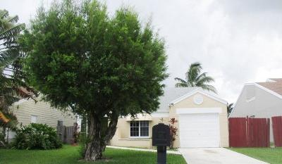 Boca Raton FL Single Family Home For Sale: $254,900