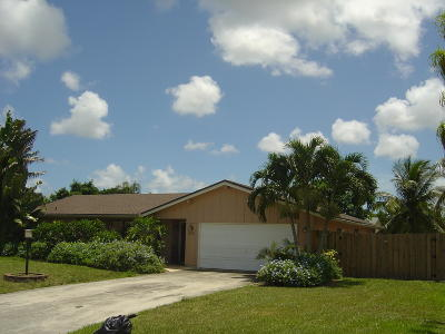 Delray Beach Single Family Home For Sale: 4630 Sunrise Boulevard