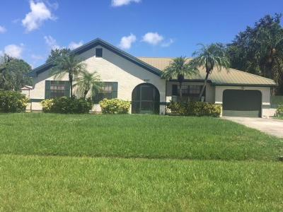 Port Saint Lucie Single Family Home For Sale: 2337 SE Master Avenue