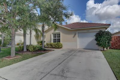 Lake Worth Single Family Home For Sale: 5309 Rivermill Lane