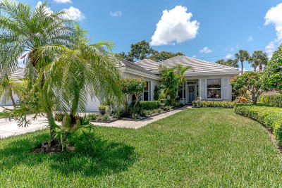 Palm Beach Gardens Single Family Home For Sale: 8611 Wakefield Drive