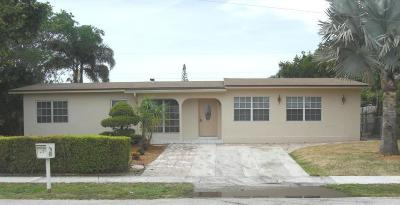 Lantana FL Single Family Home Contingent: $250,000