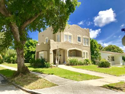 West Palm Beach Single Family Home For Sale: 849 30th Street