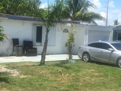 Boynton Beach Single Family Home For Sale: 3455 Orange Street