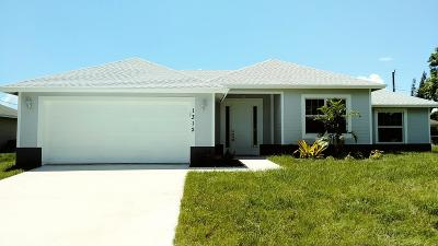 Port Saint Lucie Single Family Home For Sale: 1312 SW Crest Avenue