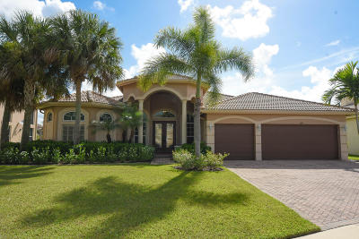Lake Worth Single Family Home For Sale: 6074 Pond Bluff Court