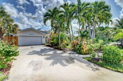 Single Family Home For Sale: 4600 Cypress Knee Drive