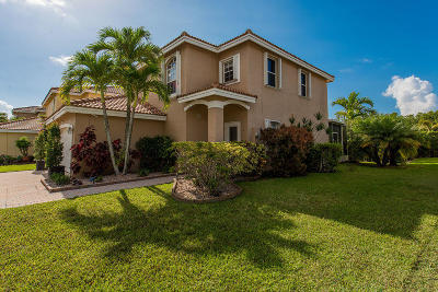 Coconut Creek Single Family Home For Sale: 3998 Crescent Creek Place