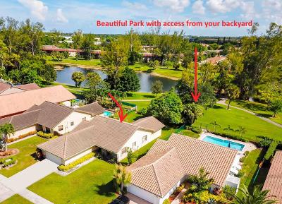 Boca Raton Single Family Home For Sale: 7518 Silver Woods Court