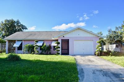 Port Saint Lucie Single Family Home For Sale: 269 SW Inwood Avenue