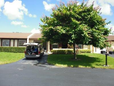 Delray Beach Single Family Home For Sale: 15812 Philodendron Circle