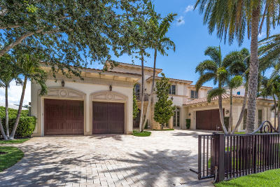 Boca Raton Single Family Home For Sale: 237 W Alexander Palm Road