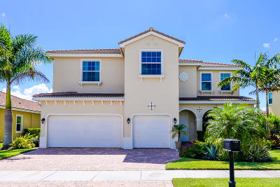 Port Saint Lucie Single Family Home For Sale: 11936 SW Aventino Drive