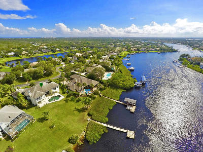 Tequesta Single Family Home For Sale: 18411 SE Lakeside Drive