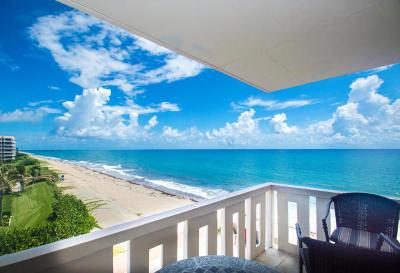 Palm Beach Rental For Rent: 3450 S Ocean Boulevard #408