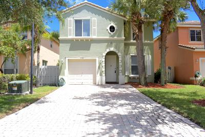 West Palm Beach Single Family Home For Sale: 4482 Lake Tahoe Circle