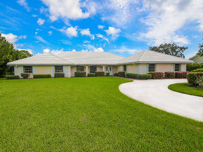 Palm City Single Family Home For Sale: 4825 SW Bimini Circle S