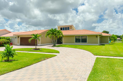 Boynton Beach Single Family Home Contingent: 11327 Wingfoot Drive