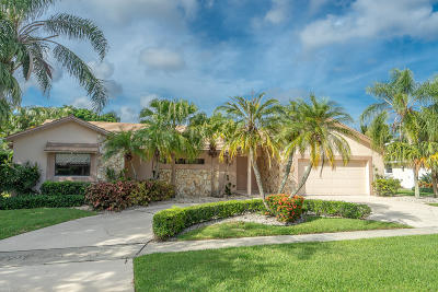 Boca Raton Single Family Home For Sale: 2907 Banyan Boulevard Boulevard NW