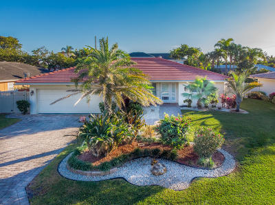 Boca Raton Single Family Home For Sale: 784 Sevilla Drive