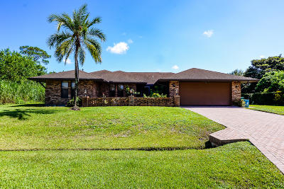 Port Saint Lucie Single Family Home For Sale: 282 NE Sagamore Terrace