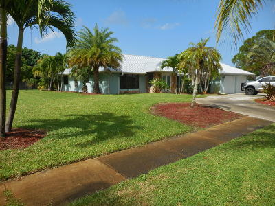 Port Saint Lucie Single Family Home Contingent: 1891 SE Boma Avenue