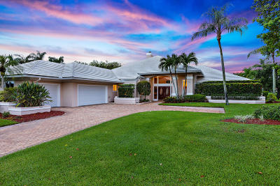 Palm Beach Gardens Single Family Home For Sale: 81 Sandbourne Lane