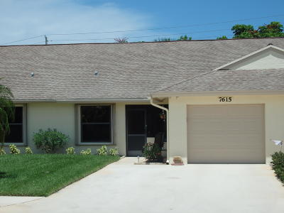 Hobe Sound Single Family Home For Sale: 7615 SE Sugar Sands Circle