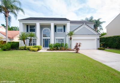Palm Beach Gardens Single Family Home For Sale: 10255 Hunt Club Lane