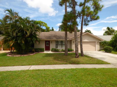 Lake Worth Single Family Home For Sale: 6180 Serene Run