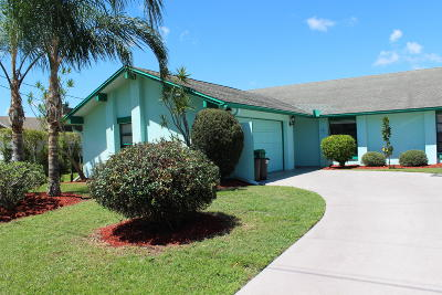Port Saint Lucie Single Family Home For Sale: 2562 SE Lily Street