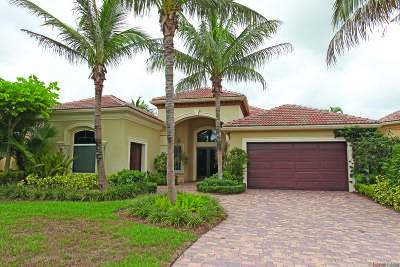 Palm Beach Gardens Single Family Home For Sale: 110 Coconut Key Court