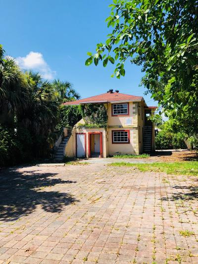West Palm Beach Multi Family Home For Sale: 919 2nd Street