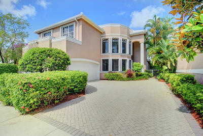 Delray Beach Single Family Home For Sale: 16860 Colchester Court