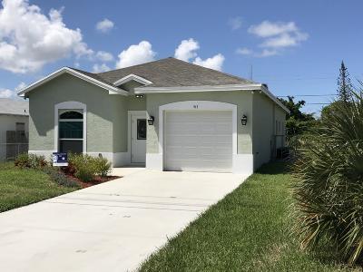 Boynton Beach Single Family Home For Sale: 518 NW 11th Avenue