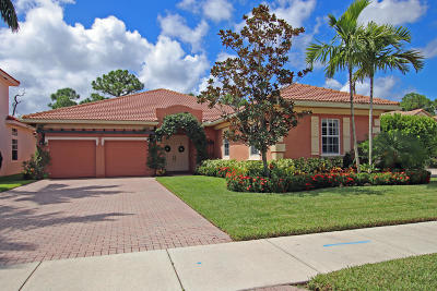Jupiter Single Family Home For Sale: 152 Via Rosina