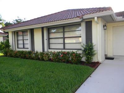 Boynton Beach Single Family Home For Sale: 9960 Bauhinia Tree Way #A