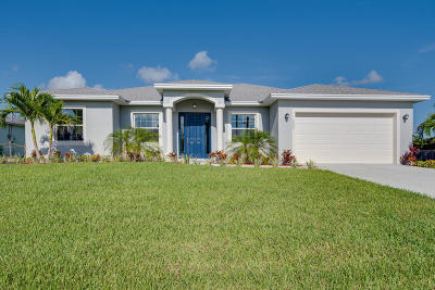 Port Saint Lucie, Saint Lucie West Single Family Home For Sale: 4644 SW Flintstone Drive