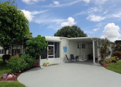 Boynton Beach FL Mobile Home For Sale: $84,900