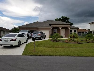 Port Saint Lucie, Saint Lucie West Single Family Home For Sale: 2050 SW Hampshire Lane