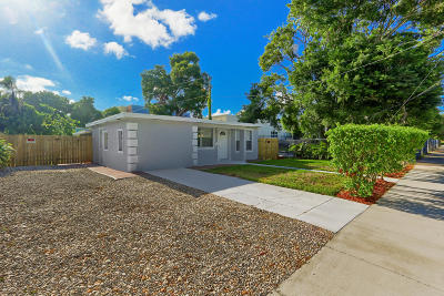 West Palm Beach Single Family Home For Sale: 5620 Hobart Avenue