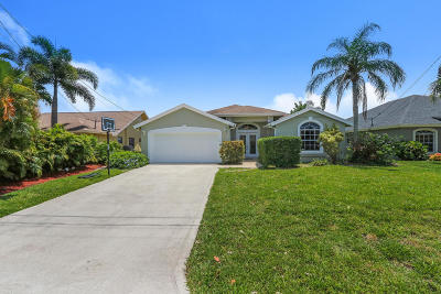 Jupiter Single Family Home For Sale: 6292 Barbara Street