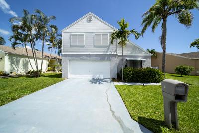 Boynton Beach Single Family Home For Sale: 3 Meriden Way