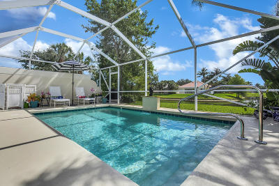 Palm Beach Gardens Single Family Home Contingent: 635 Hudson Bay Drive
