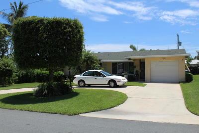 Boynton Beach Single Family Home For Sale: 124 SE 28th Avenue