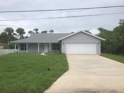 Port Saint Lucie, Saint Lucie West Single Family Home For Sale: 2532 SW Kenilworth Street