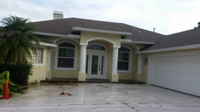 Port Saint Lucie, Saint Lucie West Single Family Home For Sale: 1612 SW Boykin Avenue